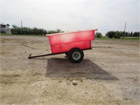 PLASTIC TOTE TRAILER - 1 7/8 HITCH