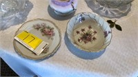 Miscellaneous dishes and glassware