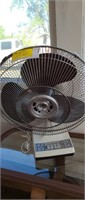 Pair of fans.