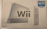 169 - WII GAME SYSTEM W/3 CONTROLLERS