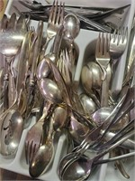 169 - WHOLE LOT OF SILVERWARE