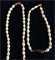 169 - 14K GOLD & SALT WATER PEARLS SET