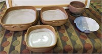 169 - SET OF 5 CERAMIC BOWLS