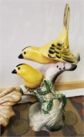BIRDS OF A FEATHER PORCELAIN FIGURINES