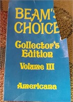 BEAM'S CHOICE COLLECTORS CUPS