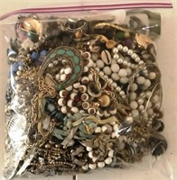 169 - BAG OF COSTUME JEWELRY (M) 6.2 LBS