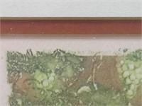 "FRAMED LOUIS ICART BOOK PLATE, ""SPRING"", PART OF 4"