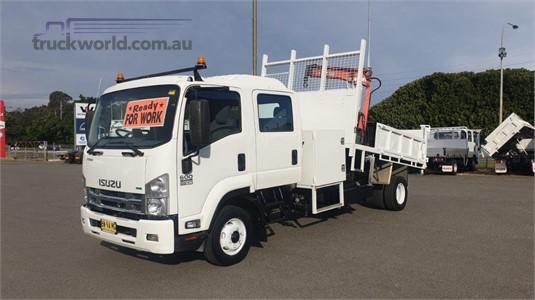2013 Isuzu FRR 600 Crew - Trucks for Sale