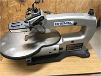 """Dremel 16"""" variable speed scroll saw on a roll"""