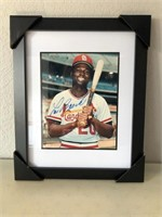 Autographed Cardinal's Baseball Picture