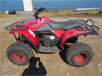 1989 POLARIS 250CC TRAIL BOSS QUAD - RUNNING