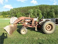 Truck/Stock Trailer/Case Tractors Auction
