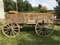 John Deere High Wheel Wagon