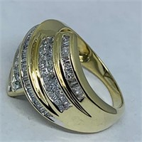 14KT YELLOW GOLD 1.25CTS DIAMOND RING