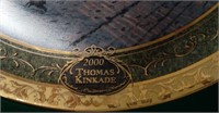 PAIR OF THOMAS KINKADE COLLECTOR PLATES IN BOX