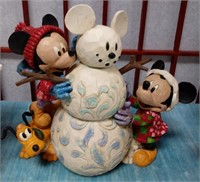 61 - WHIMSICAL DISNEY TRADITIONS FIGURINES