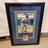 Alex Rodriguez autographed 8x10 photo and rookie