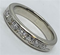 14KT WHITE GOLD .65CTS DIAMOND RING