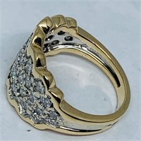 14KT YELLOW GOLD 2.00CTS DIAMOND RING
