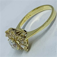 18KT YELLOW GOLD 1.70CTS DIAMOND RING FEATURES