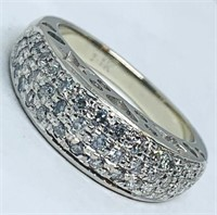 14KT WHITE GOLD .40CTS DIAMOND RING