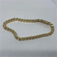 14KT YELLOW GOLD 2.00CTS DIAMOND BRACELET