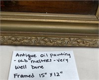 ANTIQUE OIL PAINTING - OLD MASTERS - VERY WELL