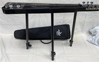 ROGUE LAP STEEL GUITAR WITH STAND AND CASE (G)