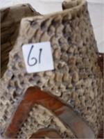 61 - BEAUTIFUL UNIQUE FISH VASE