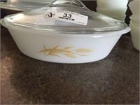 Vintage Pyrex, FireKing & Glass Bake Dishes