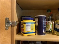 Miscellaneous Contents of Kitchen Cabinet