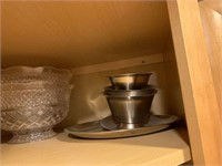 Miscellaneous Contents of 3 Kitchen Cabinets