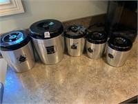 West Bend Aluminum Cannister Set