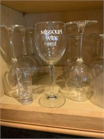 Large Lot of Assorted Glasses & Miscellaneous