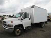 2007 Chevrolet C4500 14' S/A Box Truck