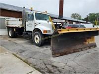 2000 Diesel Dump Truck with Plow