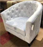 STERLING TUFTED ARM CHAIR