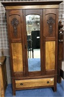 57 - NICE TWO TONED ARMOIRE