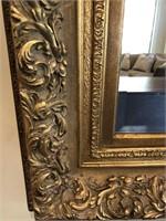 60 - BEAUTIFUL GOLD FRAMED MIRROR