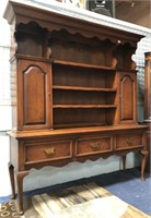 797 - BEAUTIFUL WOOD HUTCH