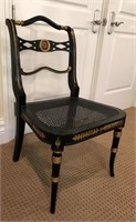60 - NICE BLACK ASIAN STYLE CHAIR