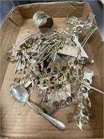 Bag of Jewelers Scrap Sterling (assume)