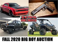 Annual Fall Big Boy Toy & Equipment - 10/1/20 - 6pm