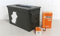 Metal Ammo Can Filled w/ Gemtech .22 Ammo