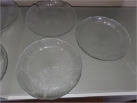 169 - SET OF PLATES & PUNCH BOWL