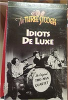 169 - CLASSIC VHS THREE STOOGES VIDEOS