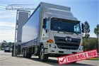 Hino 500 Series Tautliner / Curtainsider