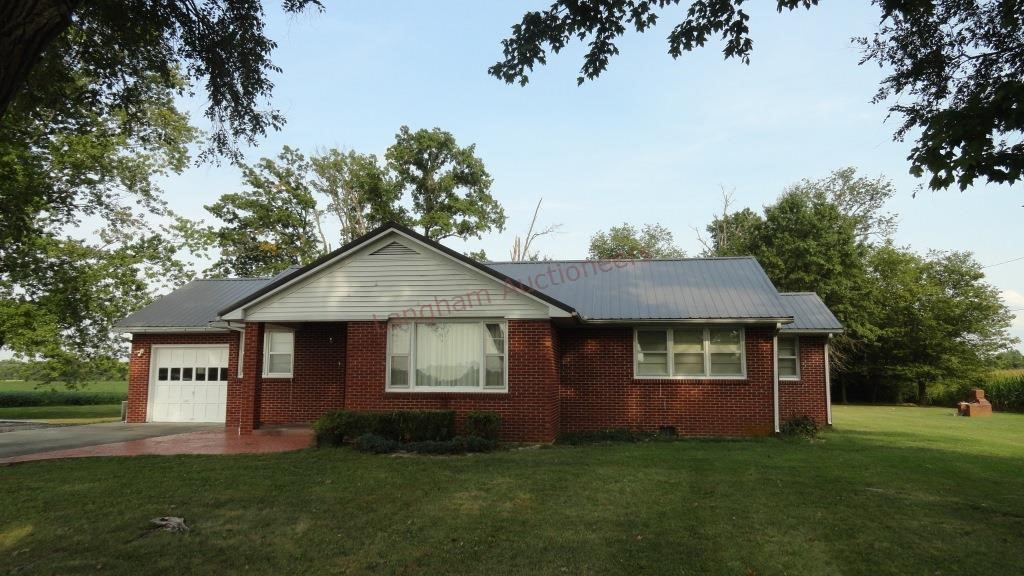 3 BR Brick Ranch Home-2854 US Hwy 51, Ramsey, IL