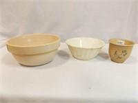 Crocks, Porcelain Bowl