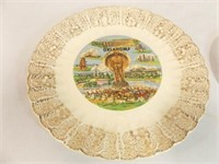 Oklahoma Plate, Plate made in Japan